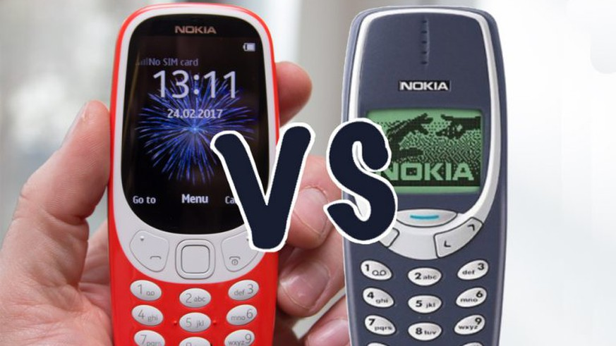 Nokia 3310: Retro-Handy kommt Ende Mai 2017 in den Handel