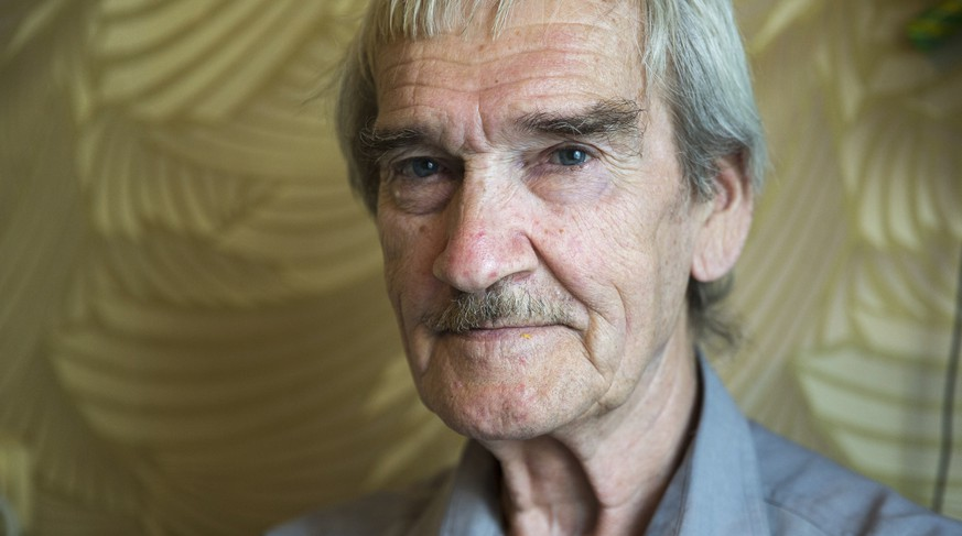 In this Thursday, Aug. 27, 2015 photo former Soviet missile defense forces officer Stanislav Petrov poses for a photo at his home in Fryazino, Moscow region, Russia. On Sept. 26, 1983, despite the data coming in from the Soviet Union's early-warning satellites over the United States, Petrov, a Soviet military officer, decided to consider it a false alarm. If he had decided otherwise, the Soviet leadership could have responded by ordering a retaliatory nuclear strike on the United States. (AP Photo/Pavel Golovkin)