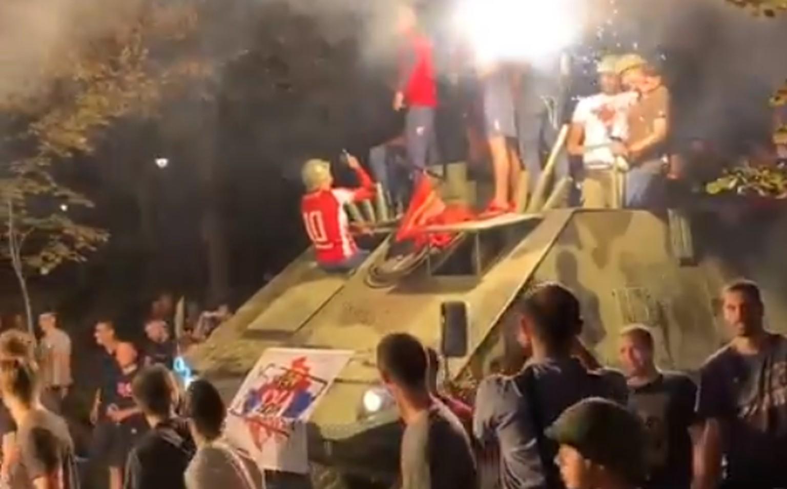Champions League: Auf Panzer feiert Roter Stern das