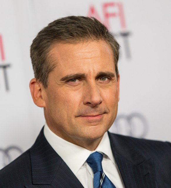 FILE - In this Nov. 13, 2014 file photo, actor Steve Carell attends a special screening of