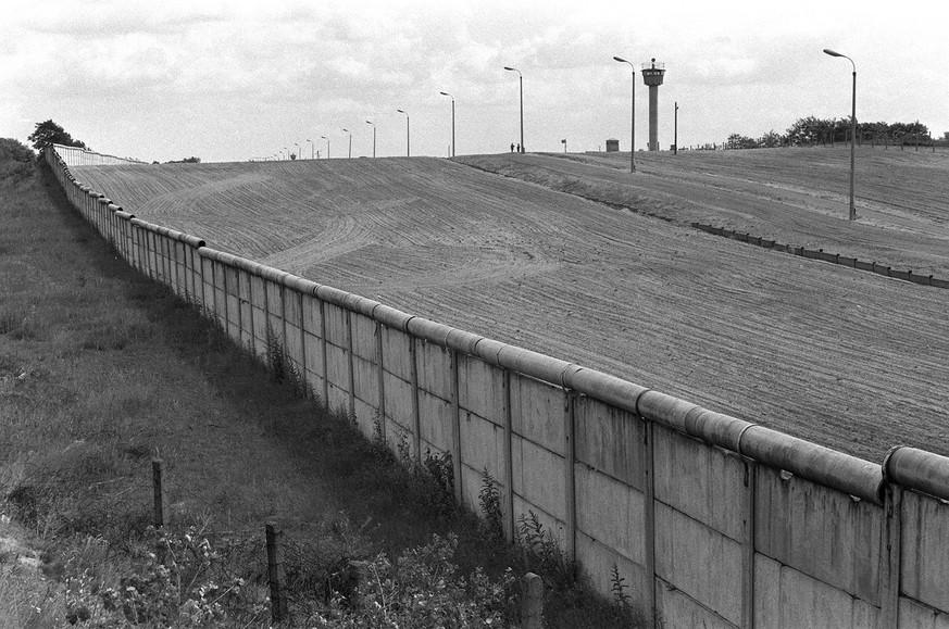 Bau Der Berliner Mauer Karte.Die Berliner Mauer Zahlen Und Fakten Watson
