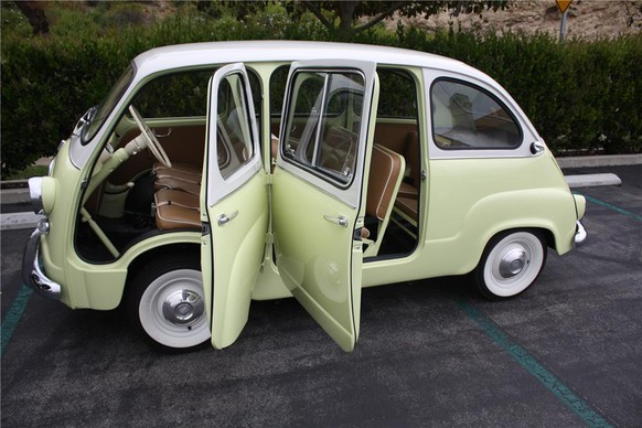 fiat multipla 600 1950s mpv http://www.barrett-jackson.com/Archive/Event/Item/1959-FIAT-MULTIPLA-MODEL-600-VAN-MICRO-CAR-91057