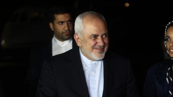 Auf der Sanktionsliste der USA: Irans Aussenminister Dschawad Sarif. (Archivbild)
