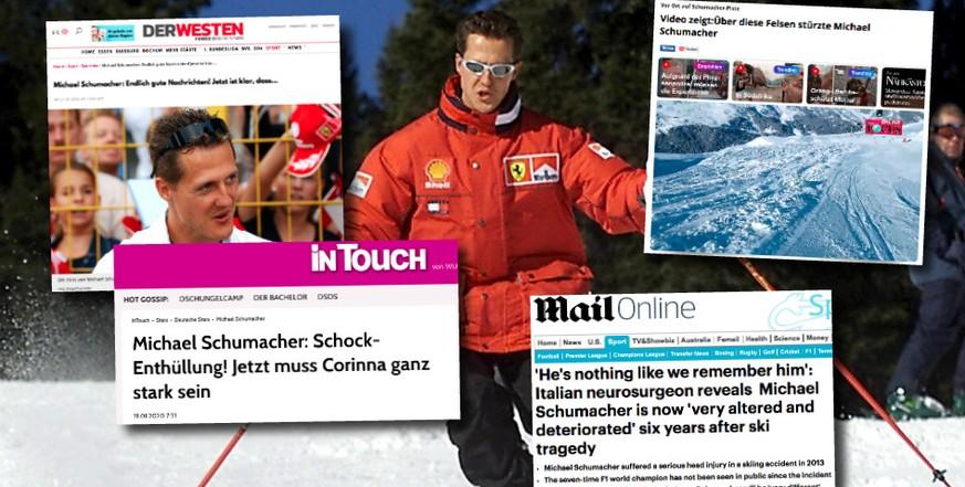 Wie Geht Es Michael Schumacher Viele Wollen Das Angeblich Genau Wissen Watson