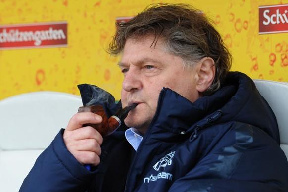 16.05.2016; St.Gallen; Fussball Super League; FC St.Gallen - FC Zuerich; Praesident Ancillo Canepa (Zuerich) (Steffen Schmidt/freshfocus)