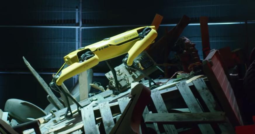 Gruseliger Roboterhund verlässt Labore von Boston Dynamics