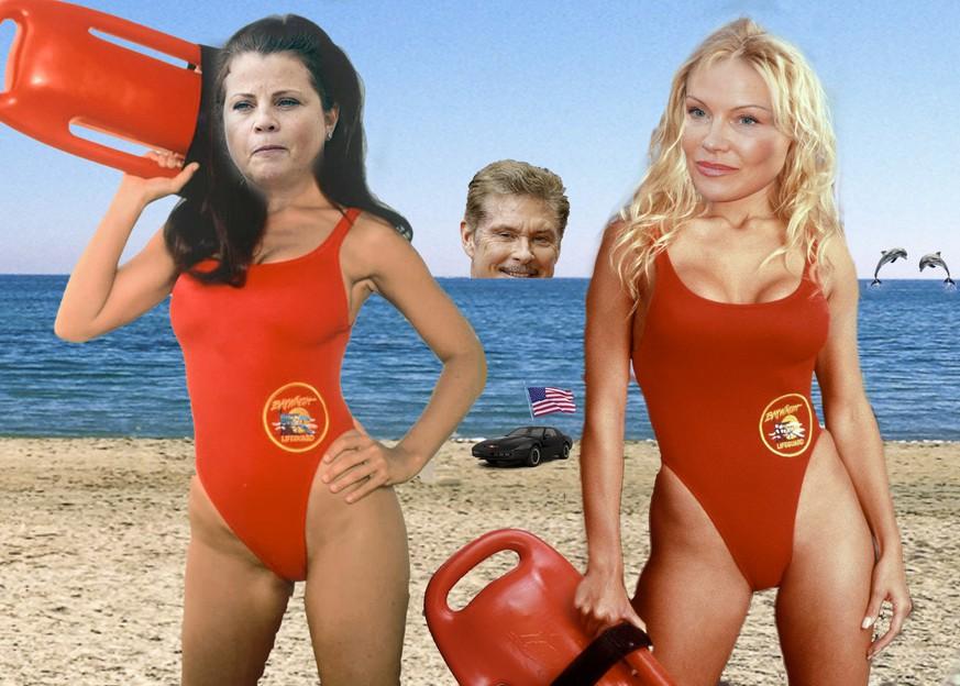 baywatch rettungsschwimmer pamela anderson porno bilder