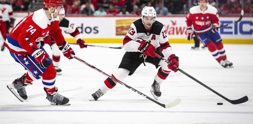 NHL: Hischiers Devils bei nächster Owetschkin-Show chancenlos