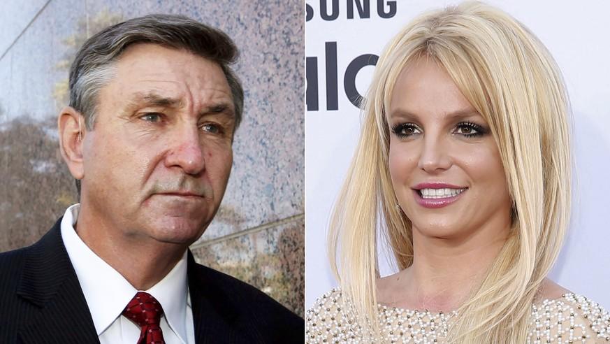 Vater und Tochter Spears.
