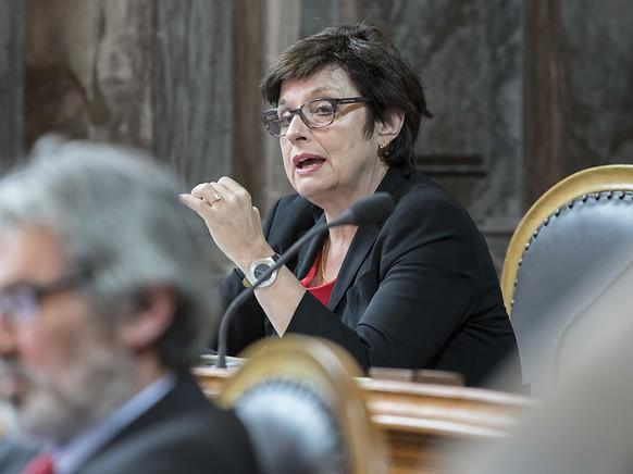 Die Basler SP-Ständerätin Anita Fetz beantragte erfolglos, den Staat mit der Herausgabe der E-ID zu betrauen. (Archivbild)