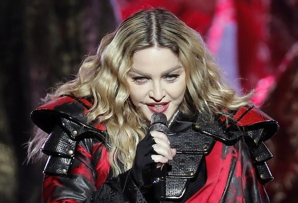 Soziale Medien - Madonna verbreitete Falschinformationen über das Coronavirus
