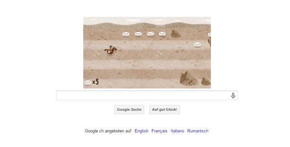 Pony Express auf Google