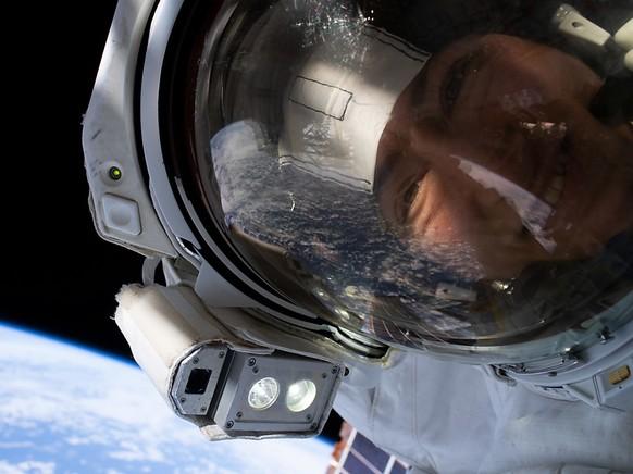Nasa-Astronautin Christina Koch ist die Frau, die bisher am längsten im Weltraum unterwegs gewesen ist. (Archivbild)