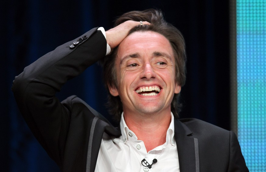 LOS ANGELES, CA - AUGUST 01:  Richard Hammond speaks at the