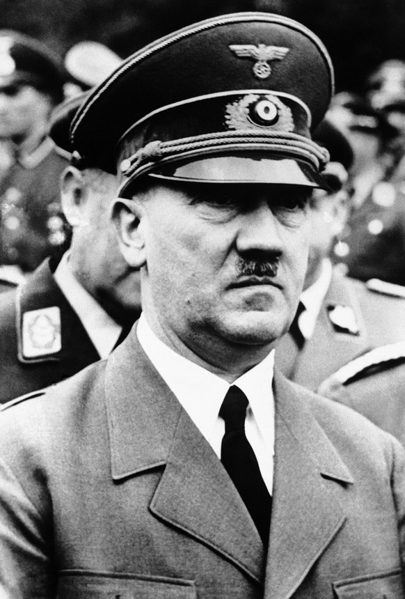 German Chancellor Adolf Hitler, taken on his 52nd birthday at his headquarters on May 6, 1941. (AP Photo)