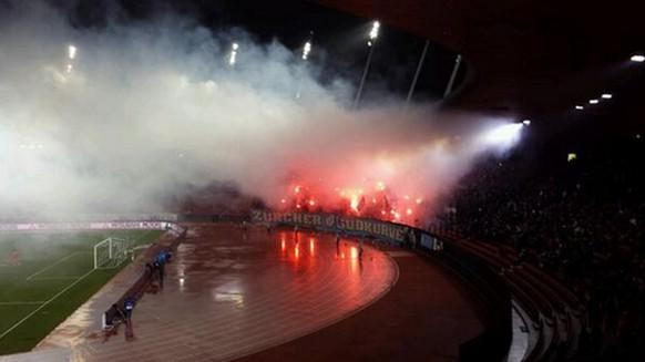 pyro fcz gc derby