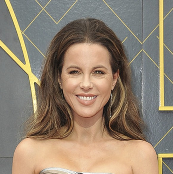 Kate Beckinsale arrives at the NBA Awards on Monday, June 24, 2019, at the Barker Hangar in Santa Monica, Calif. (Photo by Richard Shotwell/Invision/AP)