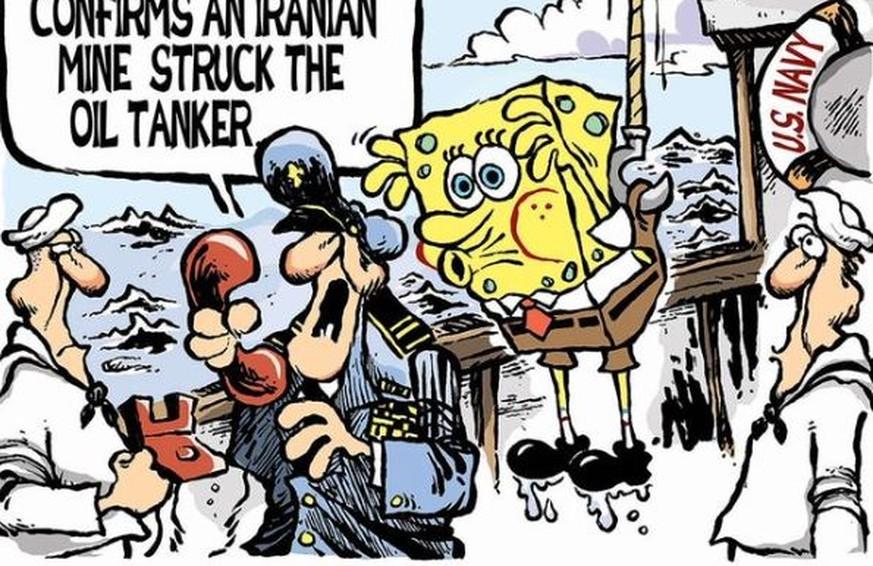 USA gegen den Iran: Der Konflikt erzählt in 19 Cartoons