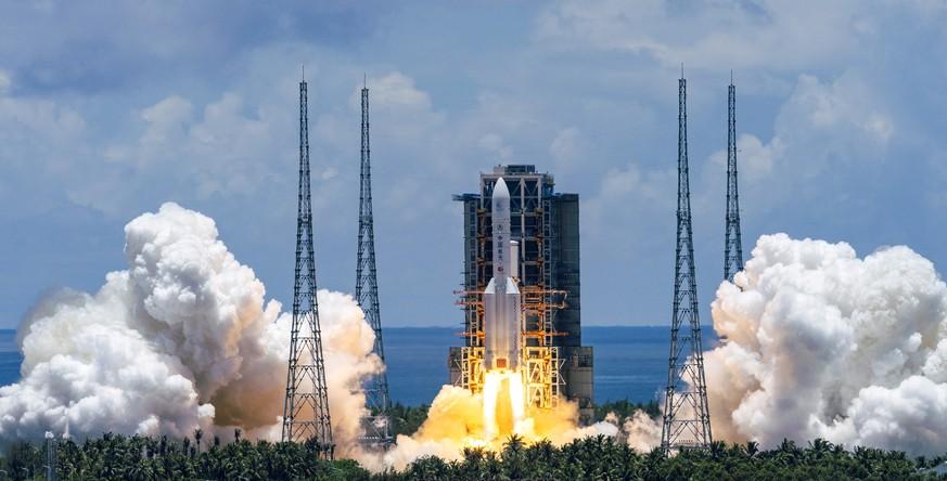 Riskante Mars-Landung: China startet ersten Versuch mit Rakete!