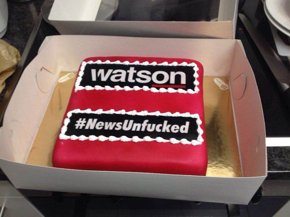 #birthday watson in form von alex dutler zu besuch bei sportalhd.com