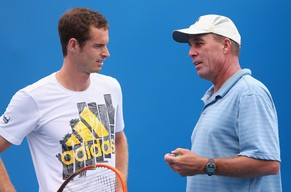 FILE - MARCH 19: Andy Murray Parts Company With Coach Ivan Lendl MELBOURNE, AUSTRALIA - JANUARY 12:  Andy Murray of Great Britain speaks to his coach Ivan Lendl during practice ahead of the 2014 Australian Open at Melbourne Park on January 12, 2014 in Melbourne, Australia.  (Photo by Quinn Rooney/Getty Images)