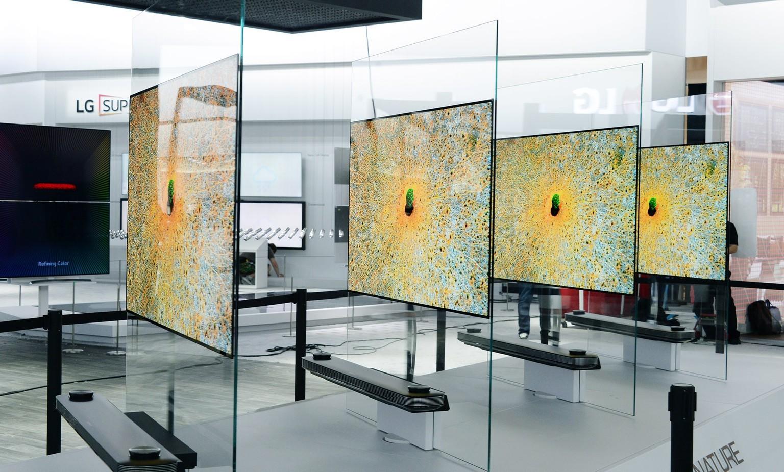 LG Signature W7: Der 4K-TV ist 2.57 Millimeter dünn - watson