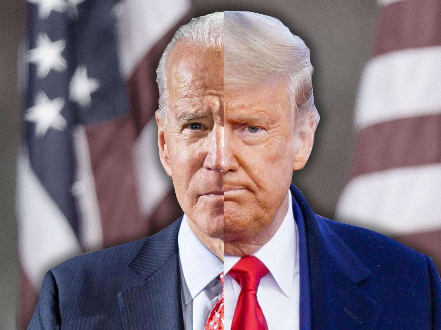 Trump oder Biden? Der Stand der letzten Umfragen und Prognosen - watson