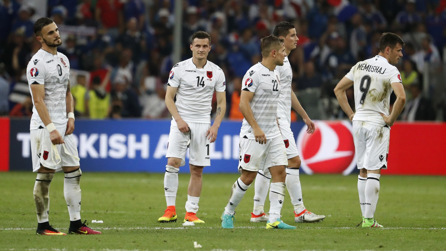 Football Soccer - France v Albania - EURO 2016 - Group A - Stade Vélodrome, Marseille, France - 15/6/16