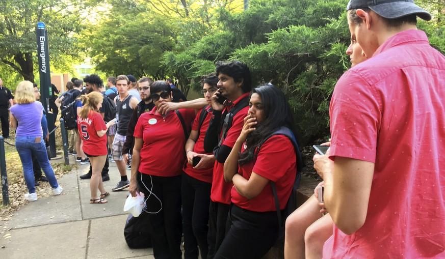 Mann erschießt zwei Menschen auf Uni-Campus