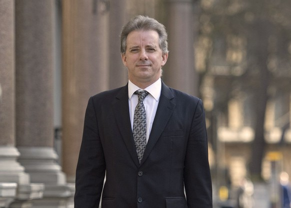 FILE - This Tuesday, March 7, 2017 file photo shows Christopher Steele, the former MI6 agent who set up Orbis Business Intelligence and compiled a dossier on Donald Trump, in London. No one has painted a more vivid or lurid portrait of a purported alliance between Trump's presidential campaign and Russia than Steele. (Victoria Jones/PA via AP)