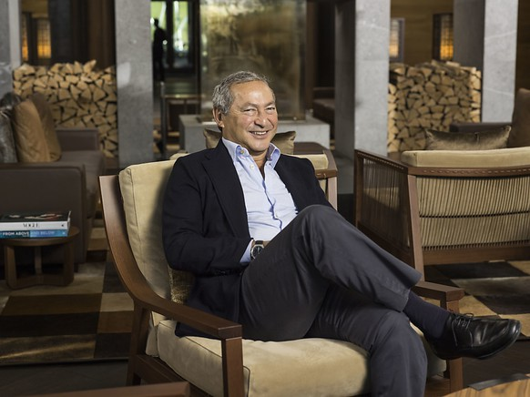 """Der ägyptische Investor Samih Sawiris in seinem Luxushotel """"The Chedi"""" in Andermatt: 2020 soll es jeden Monat schwarze Zahlen schreiben. (Archivbild)"""