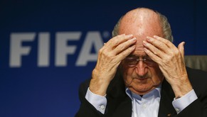 FIFA President Sepp Blatter gestures as he attends a news conference after a meeting of the FIFA executive committee in Zurich September 26, 2014. Reuters/Arnd Wiegmann  (SWITZERLAND - Tags: SPORT SOCCER HEADSHOT)