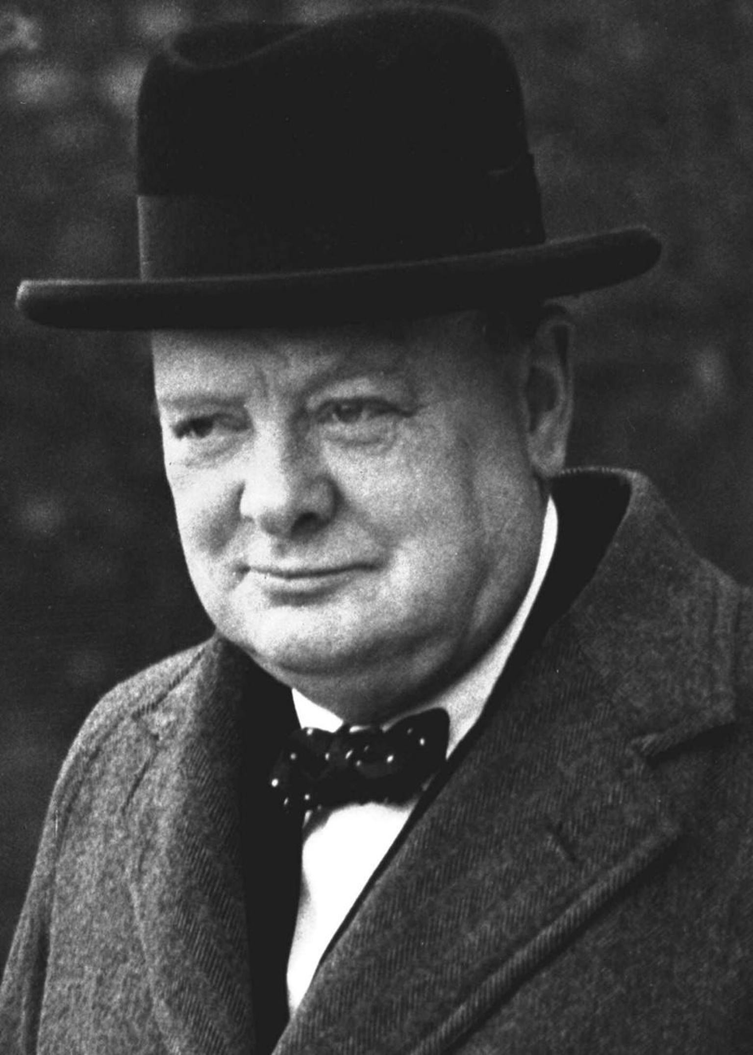 Winston Churchill is pictured in London, England, in this March 28, 1940, photo. Westminster College, located in Fulton, Mo., will renovate its Winston Churchill museum with all new exhibits to be completed during the summer of 2005. Churchill, the former British prime minister, gave his legendary Iron Curtain speech at the Presbyterian college on March 5, 1946, forever linking the central Missouri school with a defining historic moment. (KEYSTONE/AP Photo/Str) ===