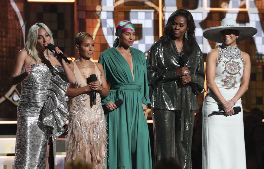 Michelle Obama: Der Star der Grammy-Verleihung