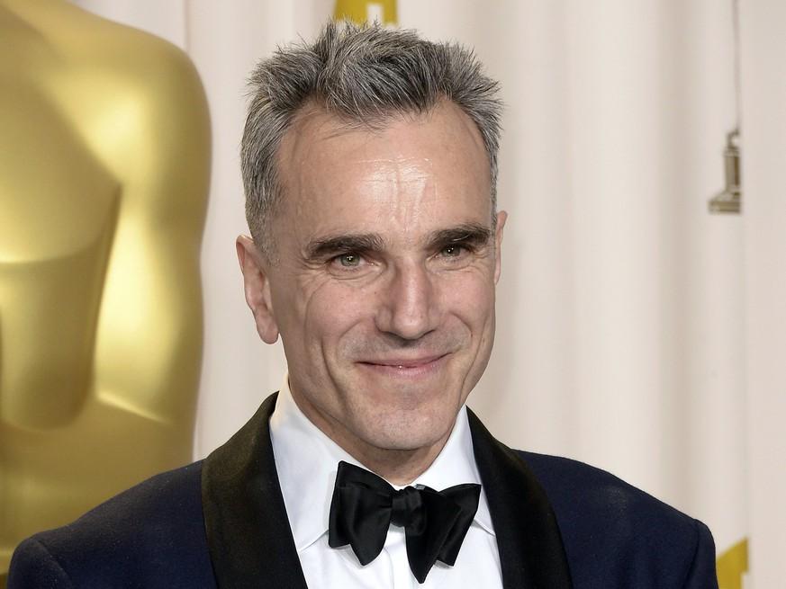Oscar-Preisträger Daniel Day-Lewis geht in Schauspiel-Rente