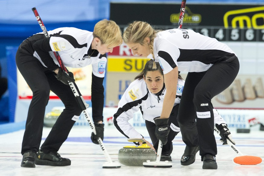 Die Schweizer Curlerinnen schnappen sich auch den