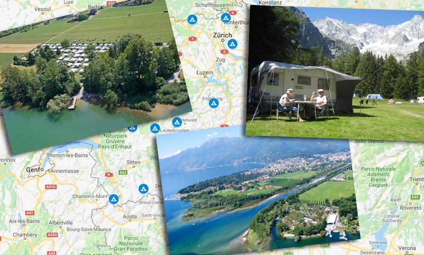 Camping Schweiz: Die schönsten und extremsten Campingplätze für Ferien