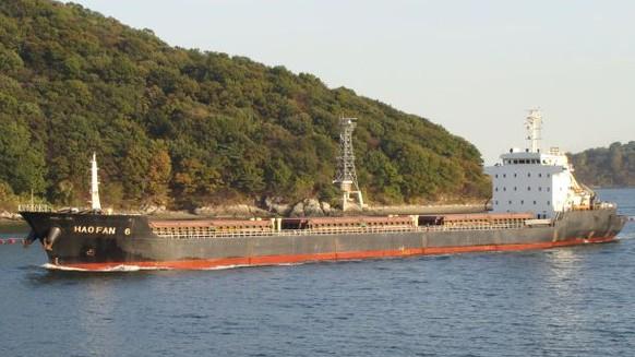 Weltweites Hafenverbot für vier verdächtige Schiffe
