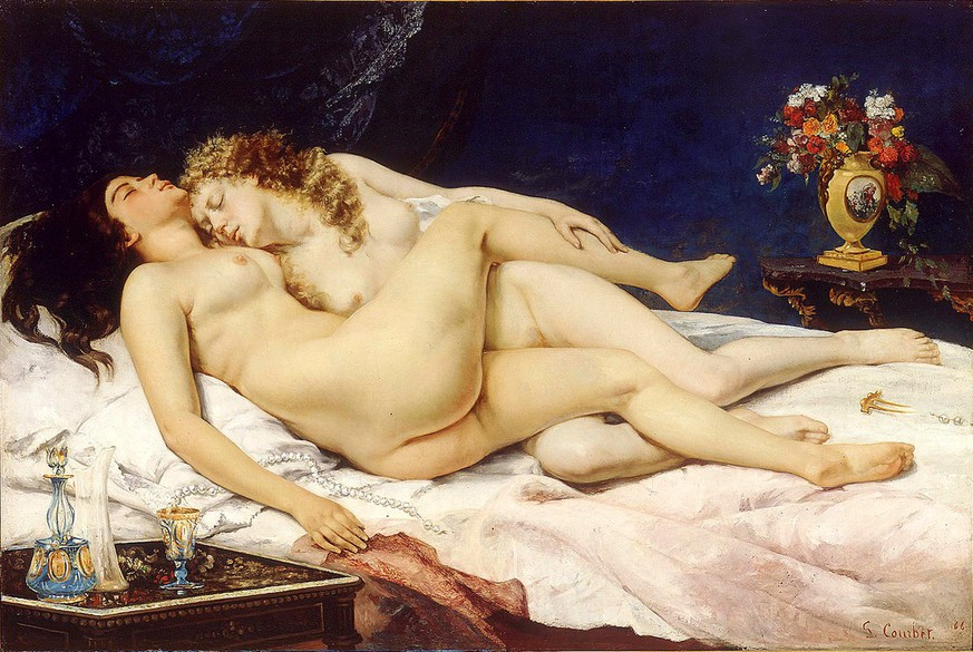 Gustave Courbet: Le Sommeil, 1866