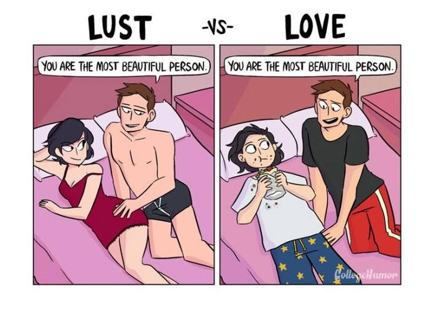 So geht die perfekte Beziehung – in 24 lustigen Bildern