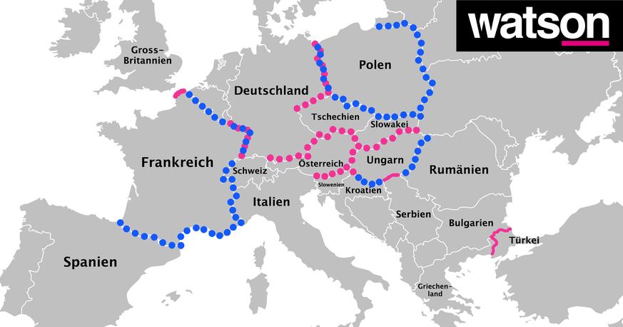 österreich Macht Grenzen Dicht