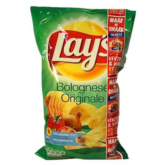 lay's chips bolognese kartoffel snacks junk food essen