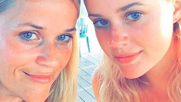 "Reese Witherspoon mit ihrer Tochter Ava Philippe. bild: <a href=""https://www.instagram.com/p/BHnLUxtAN0m/?taken-by=reesewitherspoon&hl=de"" target=""_blank"">instagram/reesewitherspoon</a>"