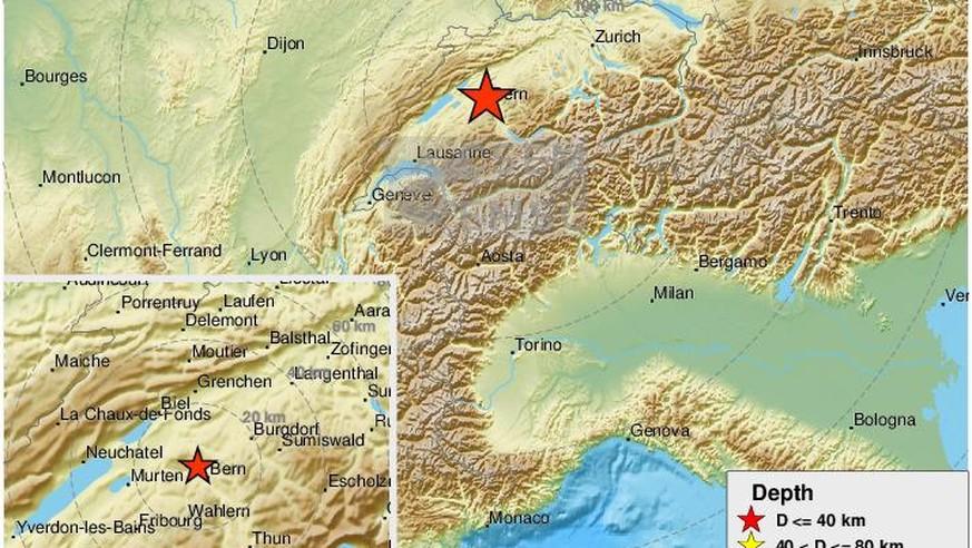 Erdbeben Schweiz: In Bern hat die Erde heftig gezittert ...