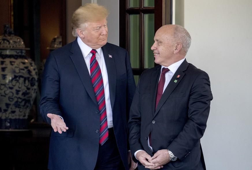 Ueli Maurer bei Donald Trump: Die Schweiz als Spielball der Iran-Politik