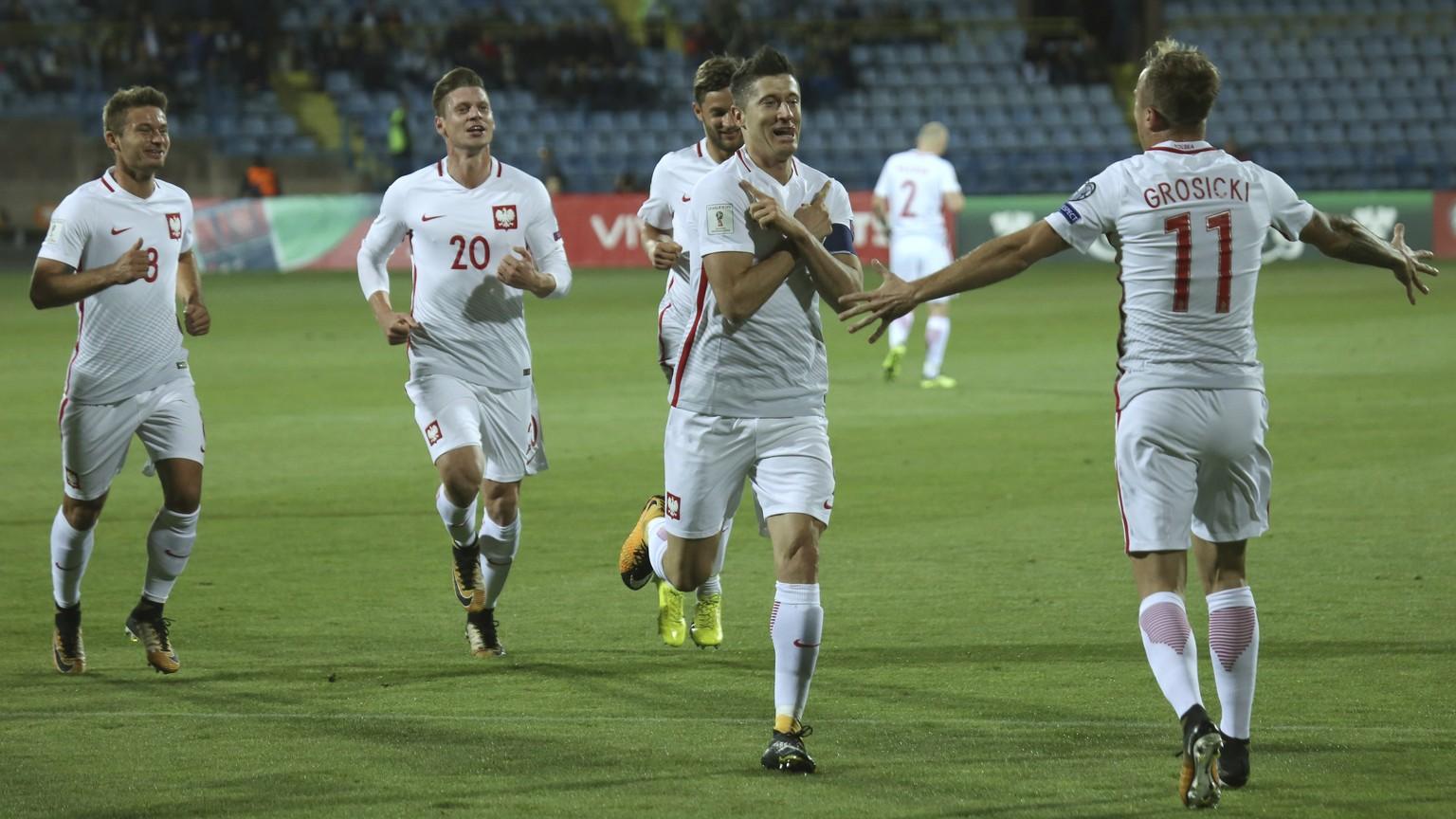 Dreierpack in WM-Quali | Lewandowski Polens Rekordschütze