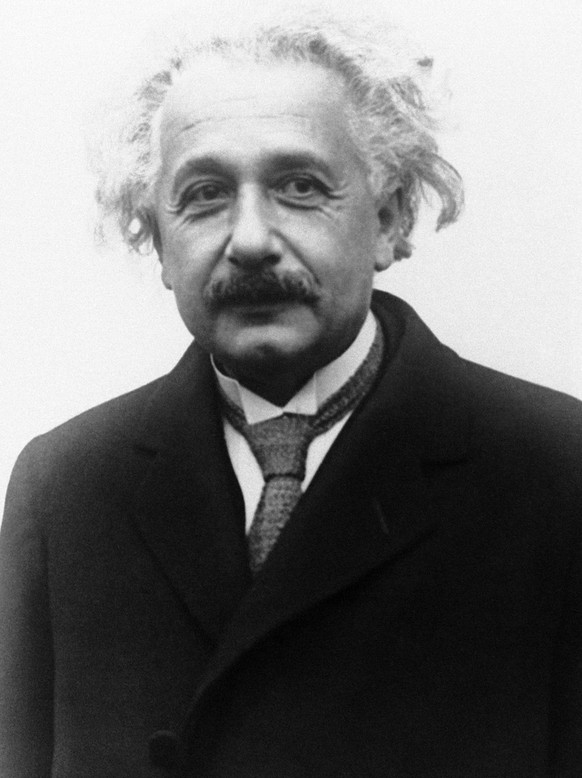 Professor Albert Einstein portrait circa 1930. (AP Photo) (KEYSTONE/AP/)