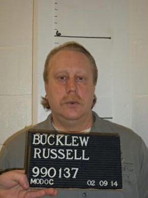 Death row inmate Russell Bucklew is shown in this Missouri Department of Corrections photo taken on February 9, 2014. Missouri is set on early May 21, 2014 to execute Bucklew, a convicted killer whose lawyers have said has a rare health condition that could lead to extreme pain and suffocation during a lethal injection.  REUTERS/Missouri Department of Corrections/Handout via Reuters (UNITED STATES - Tags: CRIME LAW HEALTH) ATTENTION EDITORS - THIS PICTURE WAS PROVIDED BY A THIRD PARTY. REUTERS IS UNABLE TO INDEPENDENTLY VERIFY THE AUTHENTICITY, CONTENT, LOCATION OR DATE OF THIS IMAGE. THIS PICTURE IS DISTRIBUTED EXACTLY AS RECEIVED BY REUTERS, AS A SERVICE TO CLIENTS. FOR EDITORIAL USE ONLY. NOT FOR SALE FOR MARKETING OR ADVERTISING CAMPAIGNS