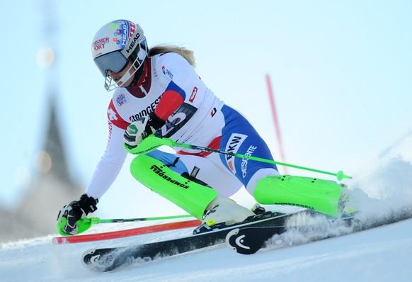 29.12.2015; Lienz; Ski alpin - Lienz Slalom Frauen;Denise Feierabend (SUI) (Michael Gruber/Expa/freshfocus)