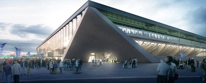 Neues fussballstadion in lausanne watson for Lausanner fussballstadion